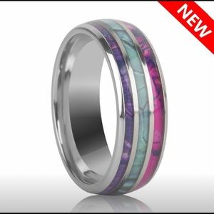 High Polishing Abalone Ring